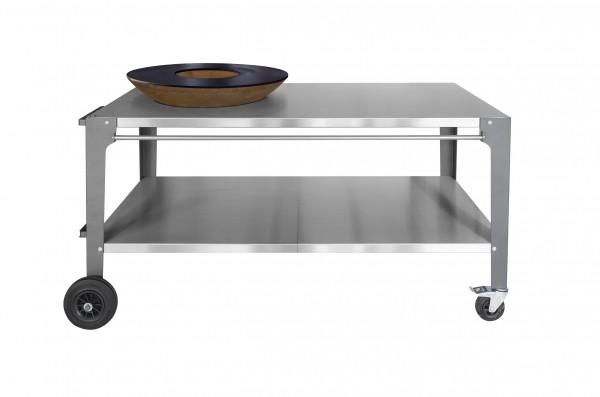 Tisch PIO 80 mit Plancha